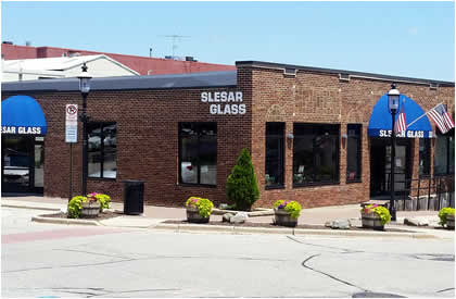 Slesar Glass Shop Wisconsin