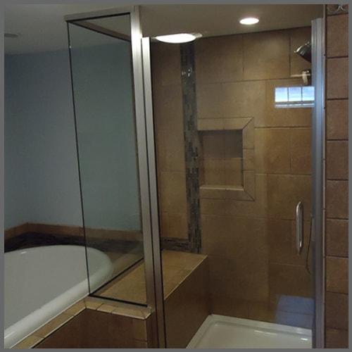 Shower Glass Enclosures | Bathtub Enclosures | Shower Enclosures ...